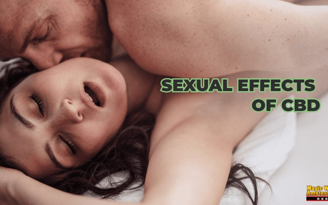 Sexual effects of CBD